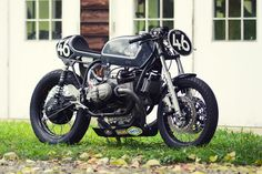 Not just a pretty face: This BMW R75/5 from 46Works wins races
