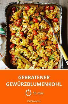 Gebratener Gewürzblumenkohl - smarter - Zeit: 15 Min. | eatsmarter.de