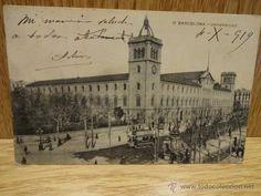 12. BARCELONA - UNIVERSIDAD. ED / MISSÉ HNOS. CIRCULADA EN 1919.