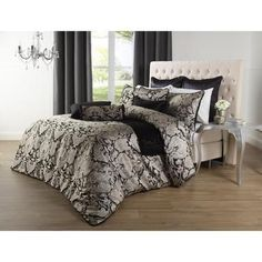 Spotlight stocks a huge range of quilt covers and quilt cover sets for king, queen, and single size beds! Transform the look of your bedroom today. Single Size Bed, Linen Bedding, Bed Linen, Black King, Quilt Cover Sets, Comforters, Scale, New Homes, Australia