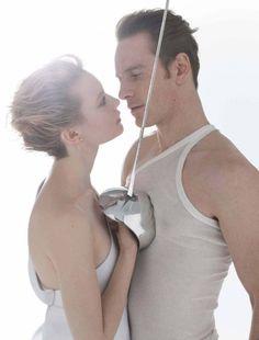 Mia Wasikowska & Michael Fassbender