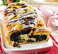 Strucla z makiem Christmas Baking, Winter Christmas, Cheesesteak, Cupcake Cakes, Cupcakes, Macarons, Donuts, Sandwiches, Good Food