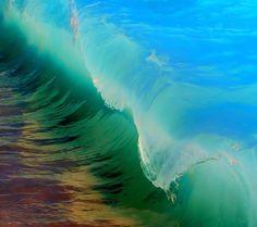 Beautiful colorful wave.