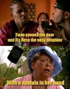 Rose, the Nosy Neighbor