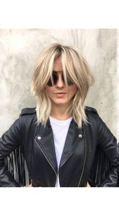 Click for celebrity hairstyles and to see which cut is best for your face. If you have a round face like Julianne Hough, try a tousled shag.
