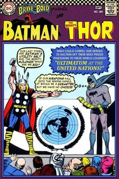 Super-Team Family: The Lost Issues!: Batman and Thor (Retro)