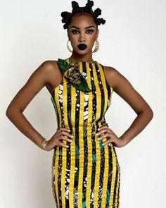 Love. ~African fashion, Ankara, kitenge, Kente, African prints, Senegal fashion, Kenya fashion, Nigerian fashion, Ghanaian fashion ~DKK