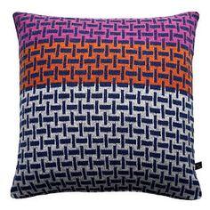 Plain Weave Knitted Cushion - soft furnishings