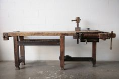 // 19th c. woodworkers bench