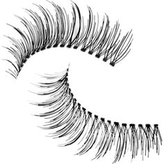 Trish Mcevoy Instant Pick-Me-Up Lashes ($19) ❤ liked on Polyvore featuring beauty products, makeup, eye makeup, false eyelashes and trish mcevoy