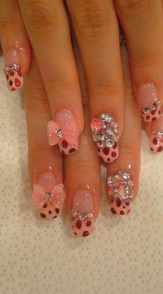 ♥¸.•*✫♥3d nail art♥¸.•*✫♥