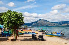 Pantai Situngkir Pesona Pantai di Pulau Samosir Sumatera Utara - Sumatera Utara
