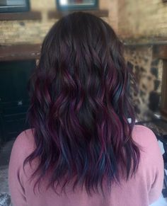 Oil Slick Hair  Credit to Shay Viola; Hair by Shay