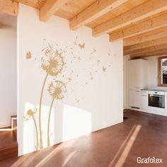 Wandtattoo Pusteblume Wandsticker Wand Aufkleber Löwenzahn  Pusteblumen   w311a   eBay
