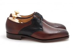 Edward Green made to order saddle shoes