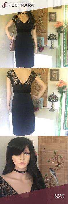 BANANA REPUBLIC Black Lace Dress BANANA REPUBLIC Black Lace Dress Banana Republic Dresses