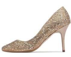 Champagne Benjamin Adams Evening Moscow Shoes
