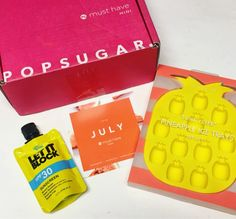 DixieDollsGlow - Subscription Box News & Reviews: July 2016 Popsugar Must Have Mini Review