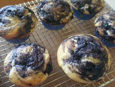 Best Blueberry Muffins, Gluten-Free  - made with all oil, no butter - zest of 1 lemon, no topping - baked 21min