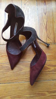 Mis zapatos de Manolo Blahnik