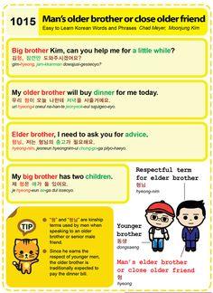 (1015) Man's older brother or close older friend