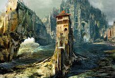 Crawling-castle  ART BY DANIEL DOCIU