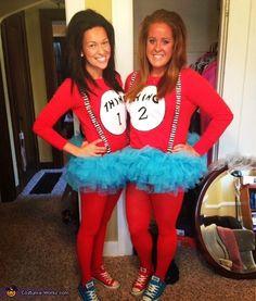 Thing 1 & Thing 2 Halloween Costume