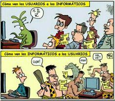 Informáticos vs Usuarios