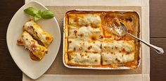 Chicken Cannelloni is one of those wonderful dishes you can make ahead, clean up your kitchen, and have ready to just stick in the oven an hour before dinnertime