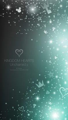 キングダムハーツ Unchained χ   ゲームのiPhone壁紙   iPhone8,スマホ壁紙/待受画像ギャラリー