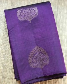 Kanjivaram Sarees Silk, Indian Silk Sarees, Indian Beauty Saree, Plain Saree, Plain Chiffon Saree, Purple Weave, Bridal Lehenga Collection, Wedding Silk Saree, Saree Models