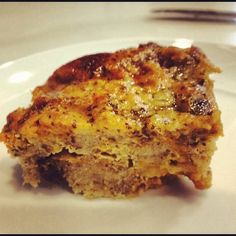 gluten and dairy free bread pudding! I will try this for Tony....