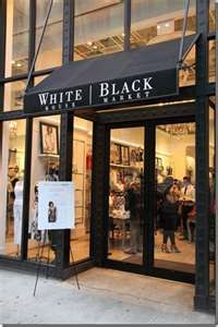 White House Black Market - my favorite store to shop... unless, of course, I'm in Paris! :-)