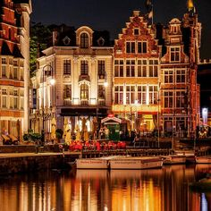 Ghent, Belgium. Photo courtesy of globaltouring on Instagram.