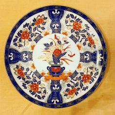 Asian Takahashi Octagon Wall Decor Tray Dinner Plate Hang or Easel Display