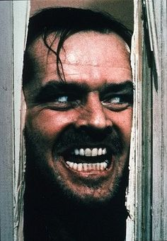 The Shining is one of the best spooky movies.  The first time I saw it, I slept on the floor next to my parent's bed.  Scared  out of my mind!