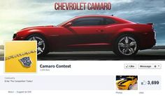Beware of fake Camaro giveaways on Facebook and other social media sites. These are like-farming scams, and there is no actual prize to be won.