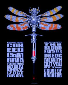 EMEK: COLD CBGB'S RECORD RELEASE PARTY 2000 WICKED POSTER