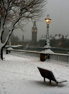 Neve a Londra