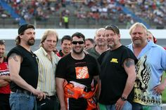 This is one of a kind pictures with the Late Capt.Phil w/my Nascar driver  Tony Stewart, along with Phil's DAD Capt Grant Harris, Capts. Larry Hendrix, Johnathan Hillstrand, and Sig Hansen.