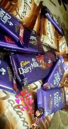 Dairy Milk Chocolate, Chocolate World, Cadbury Chocolate, I Love Chocolate, Chocolate Lovers, Chocolate Skittles, Cadbury Dairy Milk, Dairy Milk Silk, Canned Blueberries