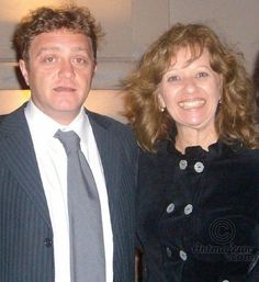 PAOLO FEROCE, PRESIDENTE DA BIENAL DA ITÁLIA E ROSE CANAZZARO - VERNISSAGE - Fotografia ©2008 por ROSE CANAZZARO -