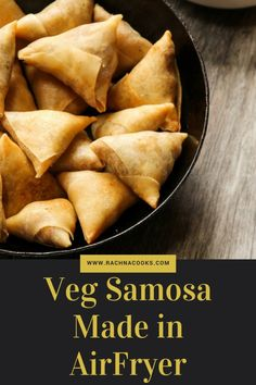 Samosa is an oily, sinfully delcious, laden-with-calories dish. Making samosa in an airfryer is quite rewarding and gives a yummy product.