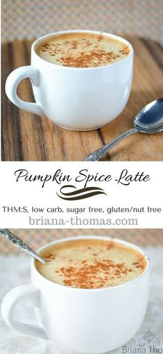 Pumpkin Spice Latte...THM:S, low carb, sugar free, gluten/nut free...who needs Starbucks?