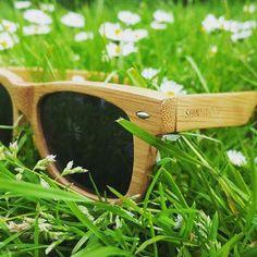 """Carbonized Bamboo Sunglasses Style """"Euskadi"""" by ShinyWood - Modèle """"Euskadi"""" de lunettes de soleil en bambou par ShinyWood"""