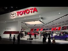TOYOTA booth report - the North American International Auto Show 2014