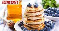 Haluatko välillä syödä aamupalaksi täyttävää, hyvää ja helppoa ruokaa, jossa ei ole hiilihydraatteja? Food Policy, Food Inspiration, Keto Recipes, Nom Nom, Breakfast Recipes, Pancakes, Food And Drink, Low Carb, Sweets