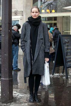 Winter-Style Reboot: 224 Street Snaps to Inspire You Now: Classic Winter wear, in the best way possible. Source: Adam Katz Sinding