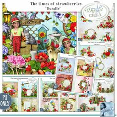 Louise L Designs new collection The Time of Strawberries. Her stores are available here; http://digital-crea.fr/shop/index.php?main_page=index&manufacturers_id=208 http://scrapfromfrance.fr/shop/index.php?main_page=index&manufacturers_id=113 http://www.digiscrapbooking.ch/shop/index.php?main_page=index&manufacturers_id=135 http://www.mymemories.com/store/designers/LouiseL/?r=LouiseL https://www.e-scapeandscrap.net/boutique/index.php?main_page=index&cPath=113_244