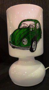 Lamp, groene kever